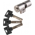 Cylindre rond inox - 33 x 33 mm - classic - Mul-T-lock