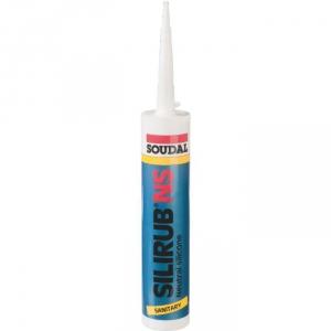 Silicone blanc - 300 ml - Silirub NS - Soudal