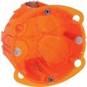 Boîte d'encastrement multimatériaux - Ø 67 x 50 mm - 1 poste - Batibox - Legrand