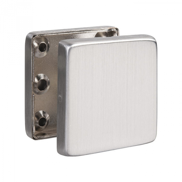 Rosace carré inox - EST.SS 50 - Borgne - La paire - Normbau