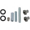 Kit de montage double - Pour poignée de tirage inclinée STG - Normbau