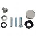 Kit de montage traversant simple inox - Pour poignée de tirage STG - Normbau
