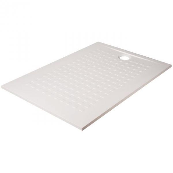 Receveur de douche rectangulaire blanc 120 x 80 cm resisol cr azur cazabox - Receveur de douche 80 120 ...
