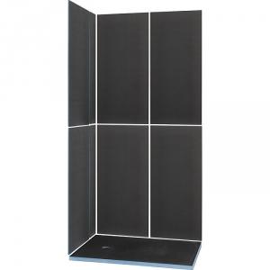 Kit receveur de douche rectangulaire complet 120 x 90 cm - Kit receveur douche italienne ...