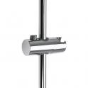 Curseur bouton chromée pour barre de douche - Ø 25 mm - Odyssea
