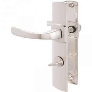 Poignée de porte sur plaque platine - Codamnation - 185 mm - Muze - Vachette