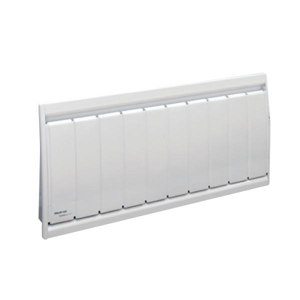 Radiateur à inertie sèche fonte - Plinthe - CALIDOU Smart ECOcontrol® - 1000 W - Noirot