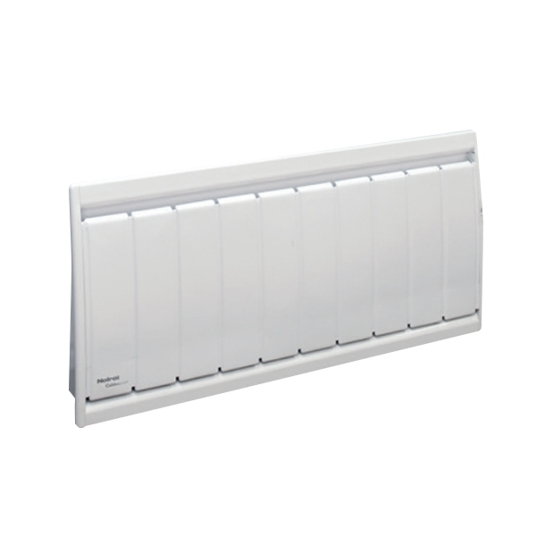 Radiateur à inertie sèche fonte - Plinthe - CALIDOU Smart ECOcontrol® - 750 W - Noirot