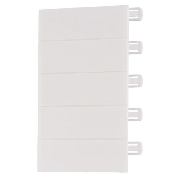 Obturateur blanc pour coffret Ekinoxe TX 18 modules - Legrand