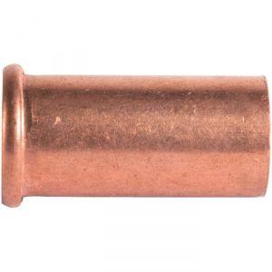 """Douille cuivre droit - Pour écrou F 1"""" - Ø 26 mm - Grandsire"""