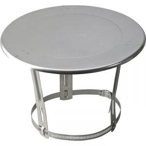 Chapeau plat inox - Ø 180 / 200 mm - Tolerie Emaillerie Nantaise