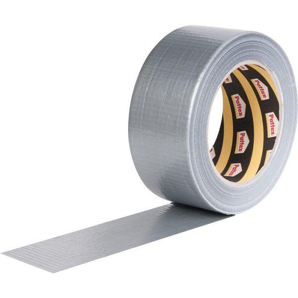 Ruban adhésif toilé gris Power tape - Rouleau de 30 m x 50 mm - Pattex