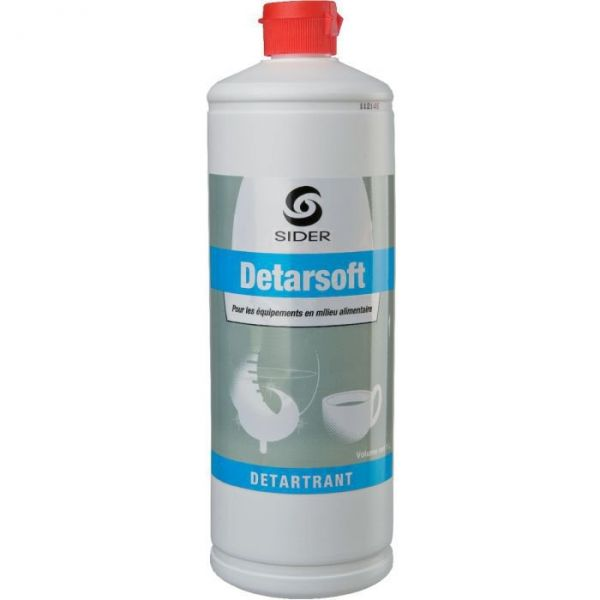 Détartrant - 1000 ml - Detarsoft - Lot de 12 - Sélection Cazabox