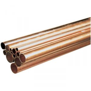 Tube cuivre en barre - Ø 8 mm - Barre de 2,5 m - Tréfimétaux