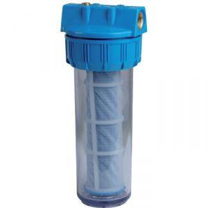 Filtre à eau avec cartouche lavable 60 µ - Sélection Cazabox