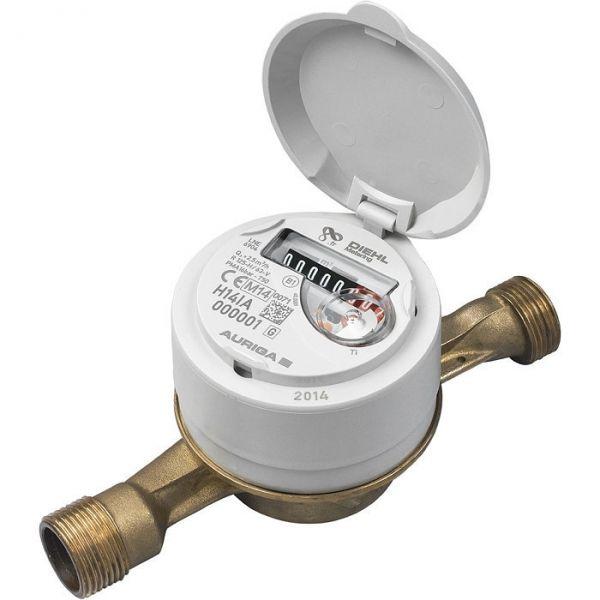 Compteur d'eau première prise - M 3/4' - 2,5 m³/h - Diehl Metering