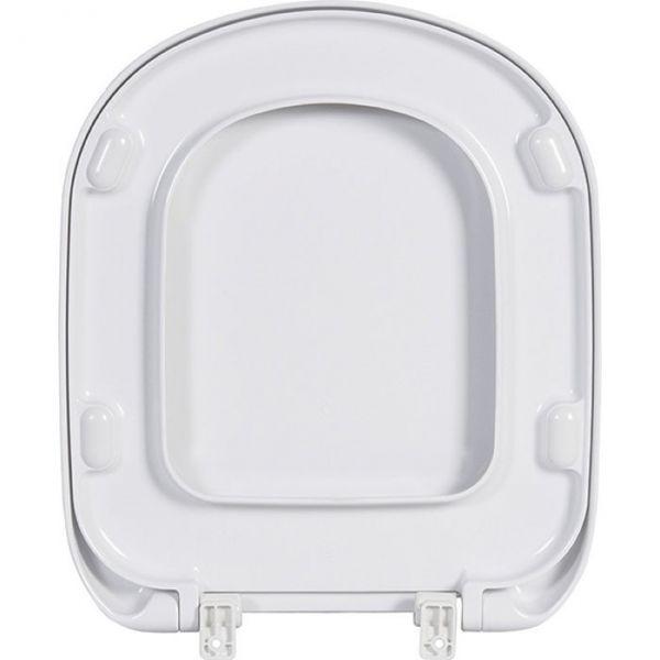 abattant wc blanc frein de chute kheops ideal standard cazabox. Black Bedroom Furniture Sets. Home Design Ideas