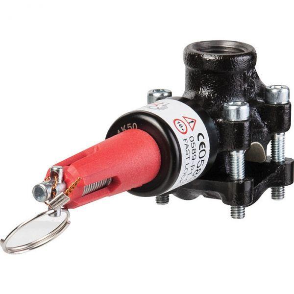 Flamco T-plus pour tube acier - 1/2' - 21 mm - Flamco