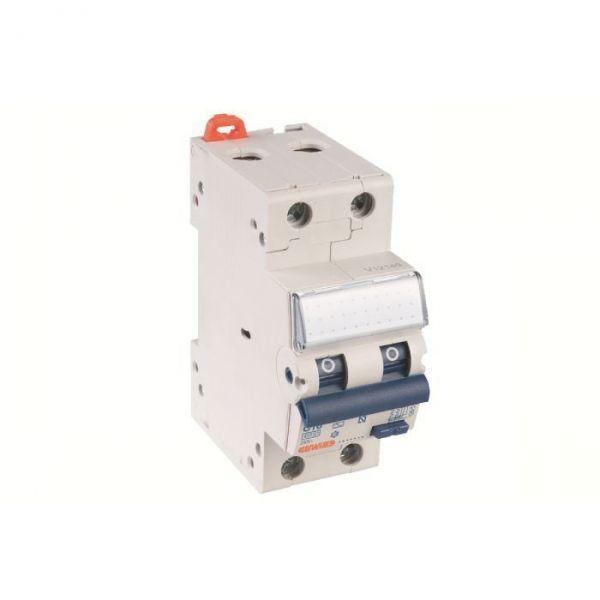 DISJONCTEUR DIFFÉRENTIEL COMPACT 2 PÔLES 30MA - 2 modules - 16 A - Gewiss