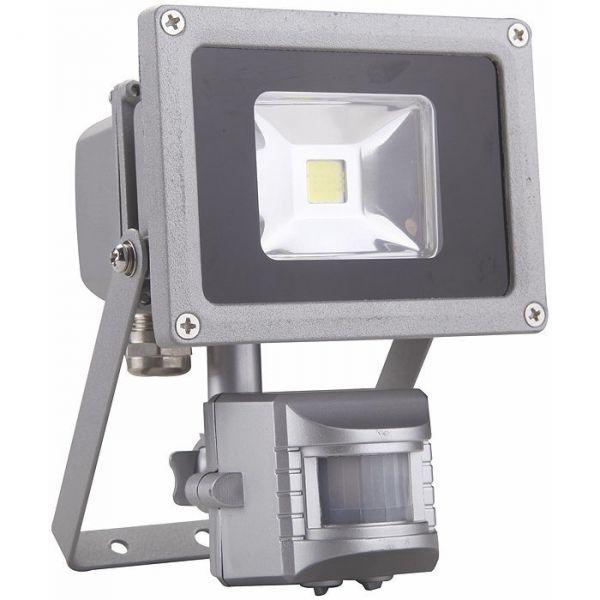 Projecteur inclinable à LED avec détecteur - 10 W - Dhome
