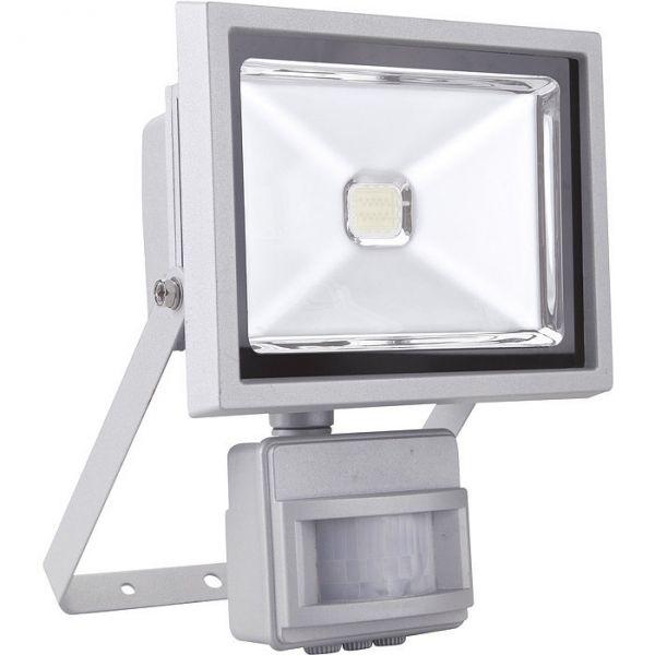 Projecteur inclinable à LED avec détecteur - 20 W - Dhome