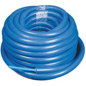 Tube PER gainé isolé - Bleu - 16 mm - 13 mm - 50 m - Sélection Cazabox