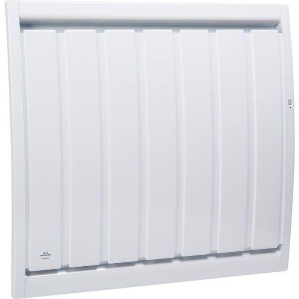 radiateur chaleur douce inertie horizontal air dou smart eco control 1500 w airelec cazabox. Black Bedroom Furniture Sets. Home Design Ideas
