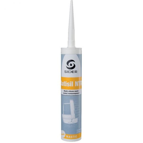 Masic translucide - 310 ml - Batisil NT - Lot de 15 - Sélection Cazabox