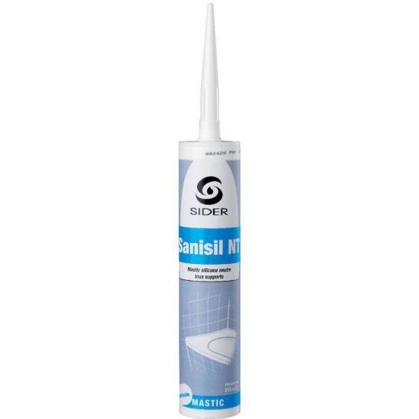 Silicone translucide - 310 ml - Sanisil NT - Lot de 15 - Sélection Cazabox