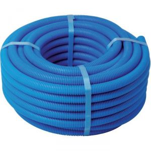 Tube PER gainé - Bleu - 20 mm - 16 mm - 25 m - Sélection Cazabox