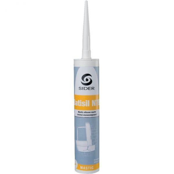 Masic blanc - 310 ml - Batisil NT - Lot de 15 - Sélection Cazabox