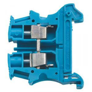 Bloc de jonction connexion à vis Viking de passage - Bleu - 6 mm² - Legrand