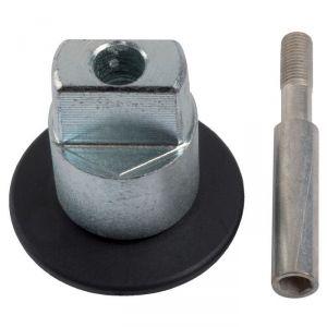 Axe rectangulaire pour pivot BTS - Réhaussé 15 mm - Dormakaba
