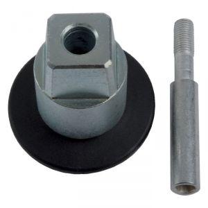 Axe carré pour pivot BTS - Réhaussé 15 mm - Dormakaba