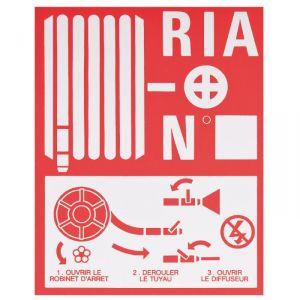 Plaque de signalisation RIA - Coditherm