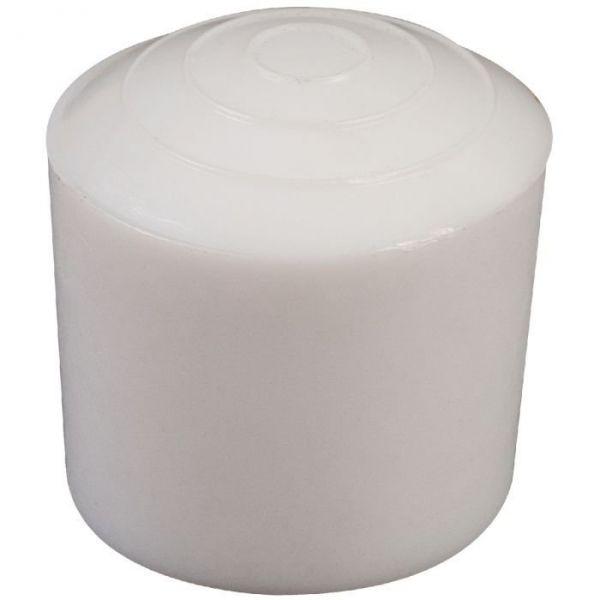Embout en plastique blanc - Ø18 - Guitel Point M
