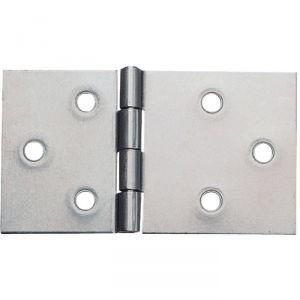 Charnière de table à nœud double feuille rectangulaire renforcée - 85 x 50 mm - Monin