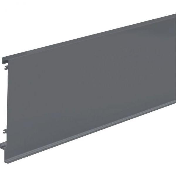 Paroi arriére anthracite pour tiroir de base ATIRA - Hauteur 144 mm - Hettich