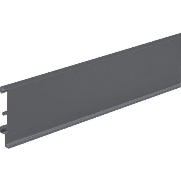 Paroi arriére anthracite pour tiroir de base ATIRA - Hauteur 70 mm - Hettich