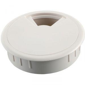Passe-câble D80 mm - Blanc - Hettich