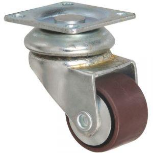 Roulette ameublement pivotante à platine Miniforte - Guitel Point M