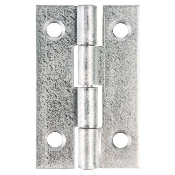 Charnière rectangulaire nœud roulé simple feuille - 40X25 - Monin