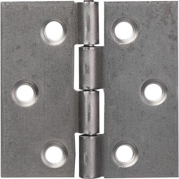 Charnière carrée nœud roulé simple feuille - 50X50 - Monin