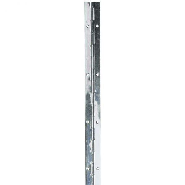 Charnière piano à nœud roulé en inox - 32 mm - Monin