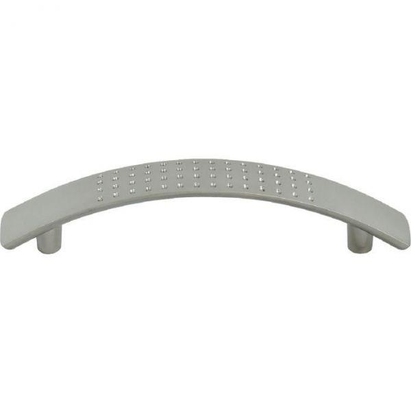 Poignée courbe aspect inox - 126 mm - Häfele