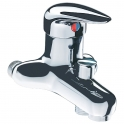 Mitigeur bain douche - Entraxes 60 à 80 mm - Delabie