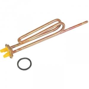 Resistance blindee thermo-plongeur droite unipolaire à bride - 2000 W - Cotherm