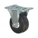 Roulette à platine fixe - Ø 125 mm - Série S7 - Caujolle