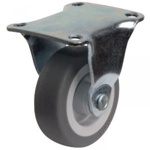 Roulette à platine fixe - Ø 50 mm - Série S18 - Caujolle