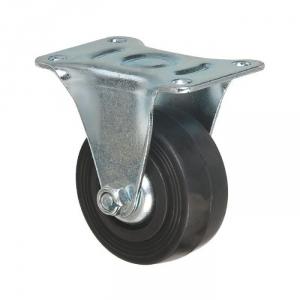 Roulette à platine fixe - Ø 80 mm - Série S7 - Caujolle